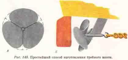 изготовление гребного винта для