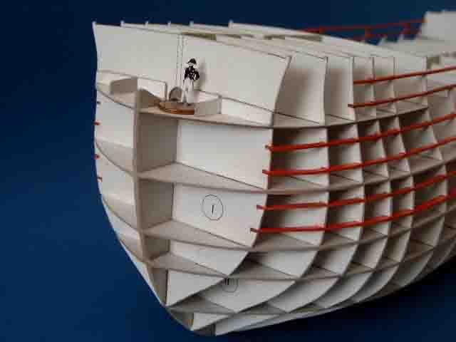 Как сделать модель парусника из картона