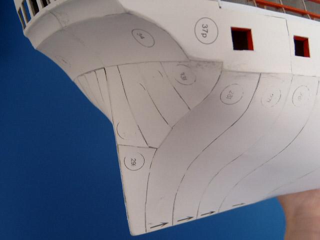 Моделирование кораблей из картона